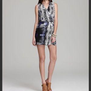 Parker Silk Sleeveless Mini Dress